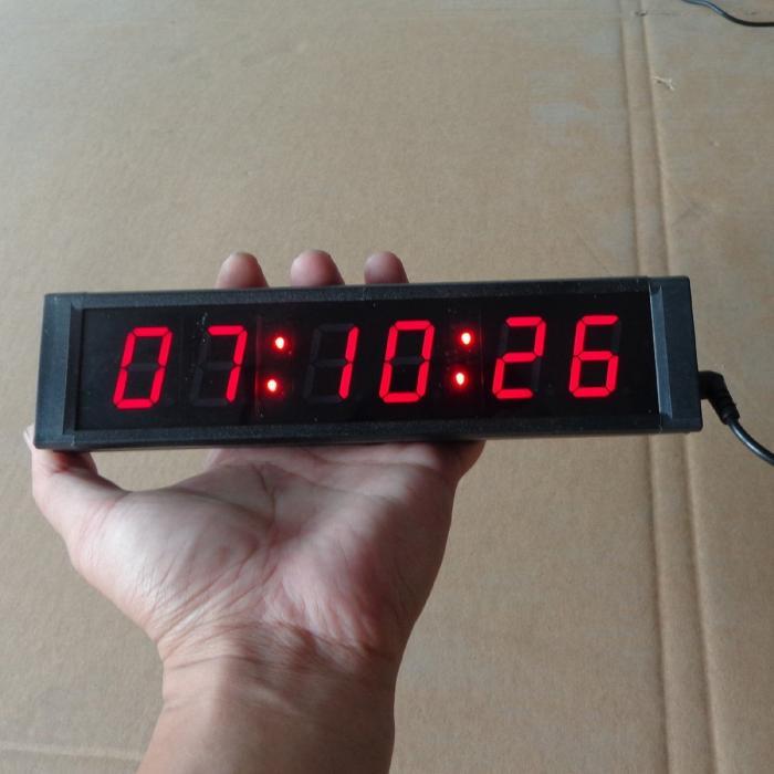 Led Digital Wall Clockled Countdown Clock1224 Hour Display